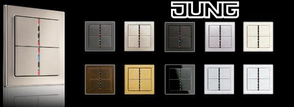 El cl sico de los interruptores el ctricos la serie ls 990 de jung celebra su 50 aniversario - Interruptores clasicos ...